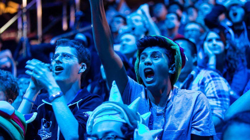 Foto: Espectadores de un torneo de eSports.