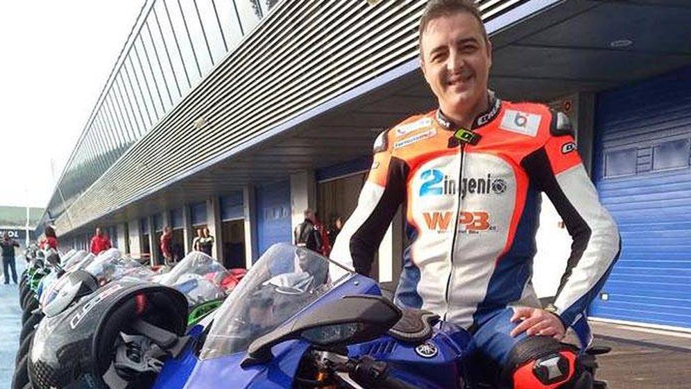 Foto: Ismael Bonilla, antaño piloto de MotoGP, ha fallecido este domingo en el Circuito de Jerez