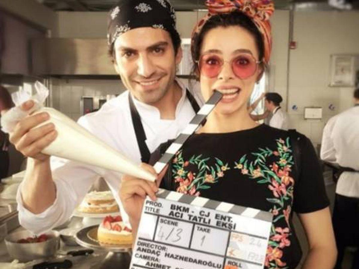 Foto:  Los actores turcos Özge Özpirinçci y Buğra Gülsoy. (Instagram @ozpirincci)