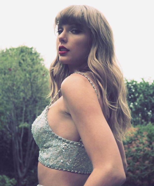 Foto: Taylor Swift, de Miu Miu. (Instagram)