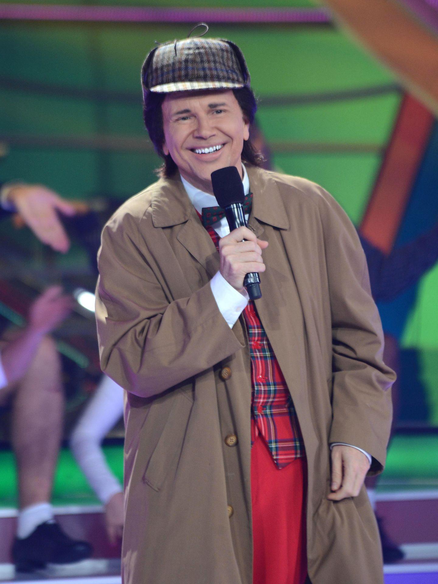 Una imagen de Santiago Segura imitando a Torrebruno en uno de sus programas infantiles.