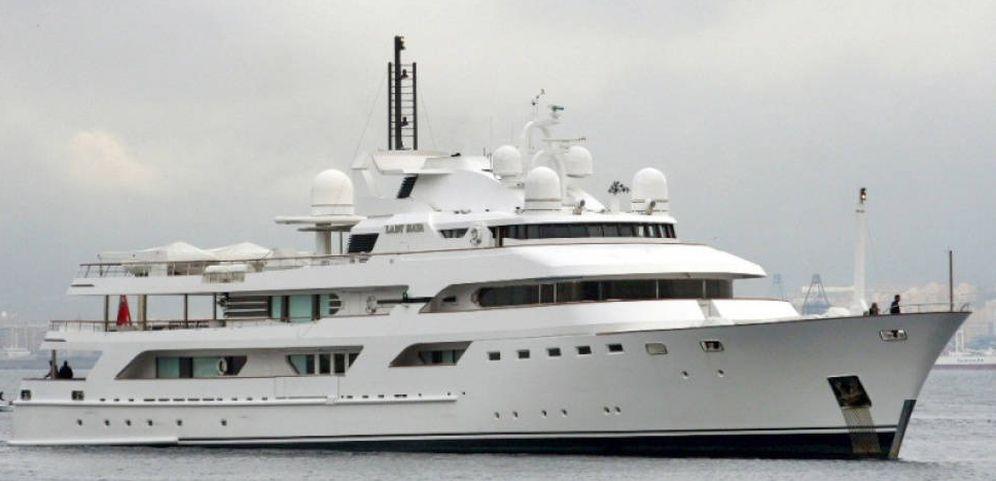 Foto: El Lady Haya, el barco de la familia real saudí, habitual de Puerto Banús.
