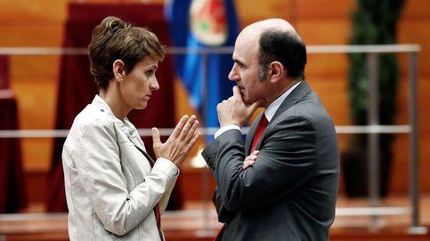 El PSN irradia optimismo tras entregar un documento base a Geroa Bai, Podemos e I-E