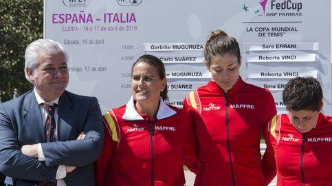 Garbiñe y Suárez, tratan de reverdecer los laureles de España en la Fed Cup