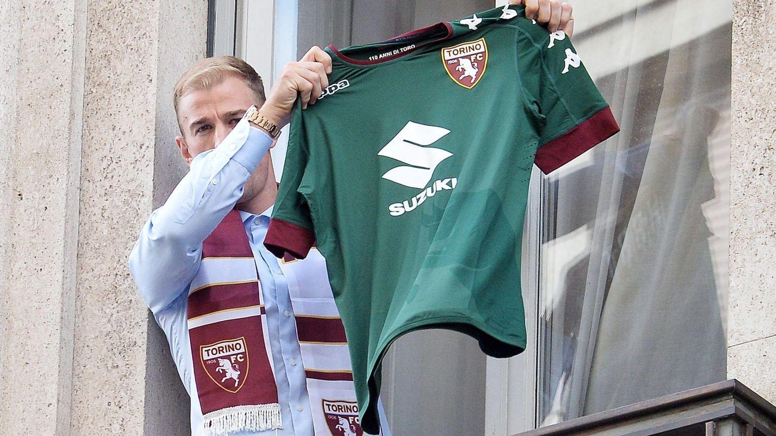 Foto: Hart fue presentado en la sede social del Torino