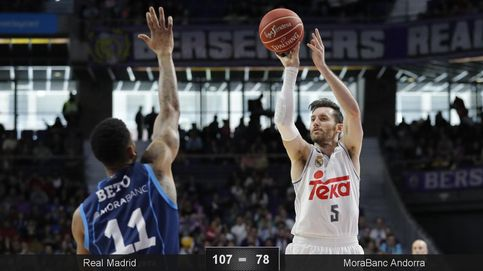 El Real Madrid da otra exhibición desde el triple y arrasa al MoraBanc Andorra