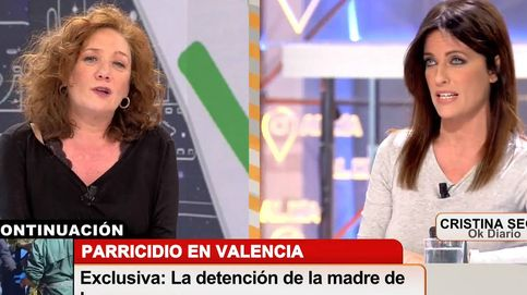 Cristina Seguí relaciona la suciedad física con la izquierda y Fallarás explota