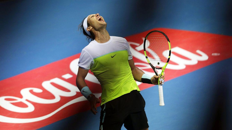 Foto: Nadal debuta en año nuevo en Abu Dabi (EFE).