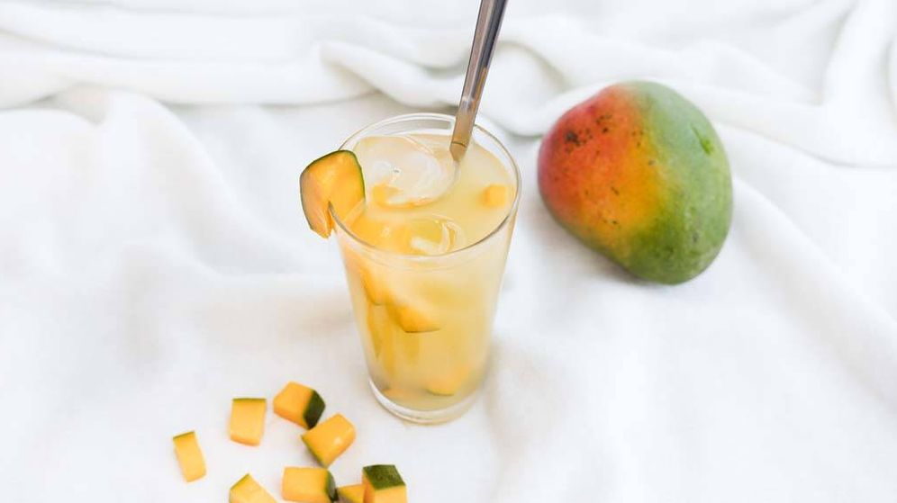 Foto: Limonada de piña y mango. (Snaps Fotografía)