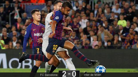 Rafinha se calza las botas de Messi y el Barcelona no nota ese bajón