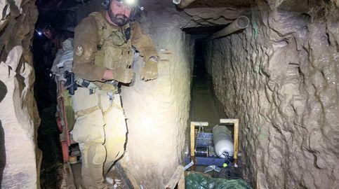 Descubren el túnel subterráneo secreto más largo entre Estados Unidos y México