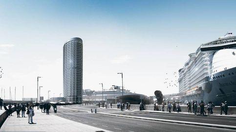 La sentencia que podría hacer tambalear la torre del puerto de Málaga