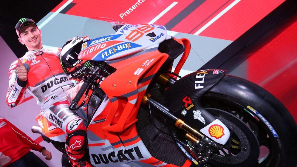 Foto: Jorge Lorenzo en la presentación de Ducati para este 2018. (EFE)