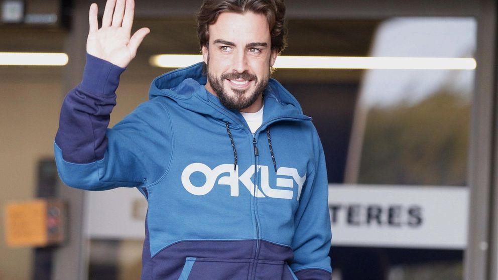 Alonso se marcha a descansar después de tres días ingresado