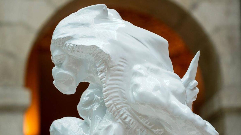 Escultura de Víctor Ochoa. (Comunidad de Madrid)