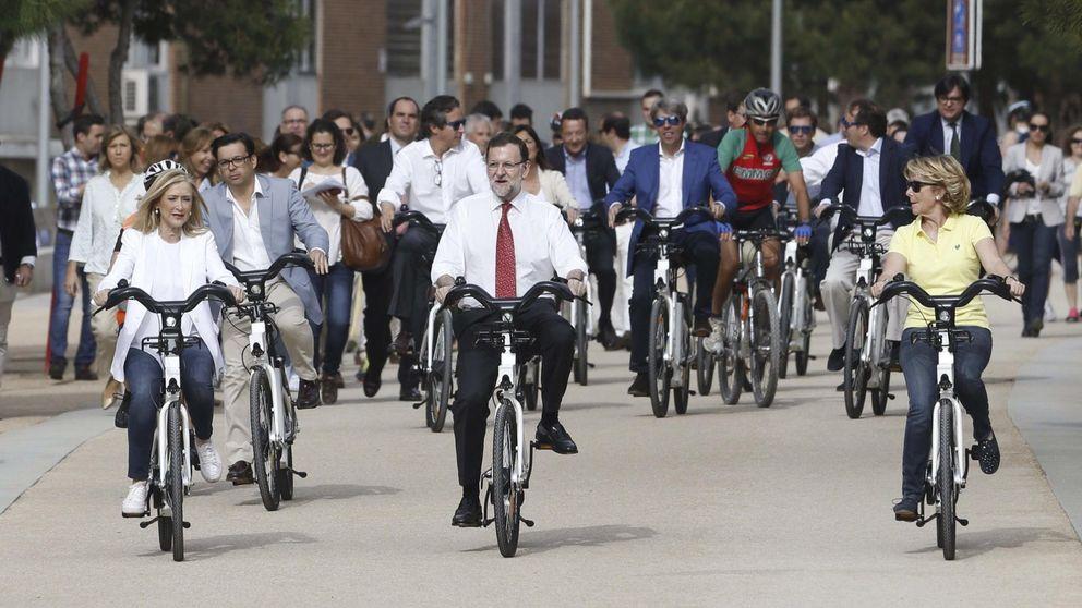 Rajoy, Cifuentes y Aguirre entran a pedales en la lucha por Madrid