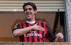 Kaká regateó al Milan hasta el último euro en suvuelta a casa