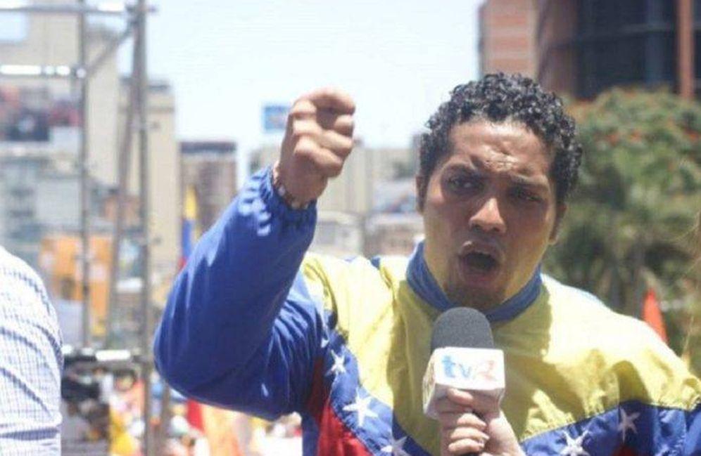 Foto: El activista y preso de conciencia venezolano Villca Fernández.