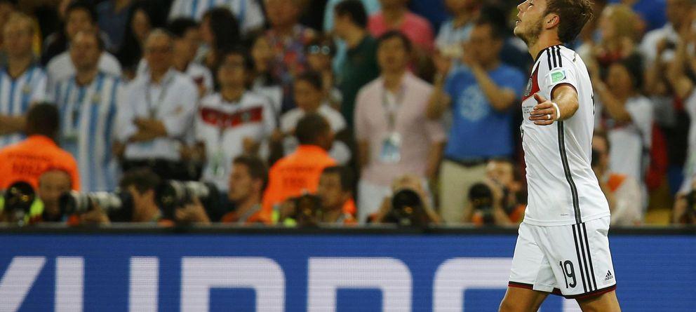 Foto: Götze ya es histórico (Reuters)