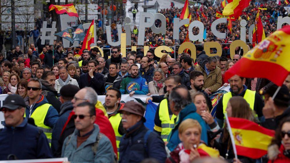 Foto: La reclamación de equiparación salarial de la Policía con los cuerpos autonómicos marca esta campaña. (EFE)