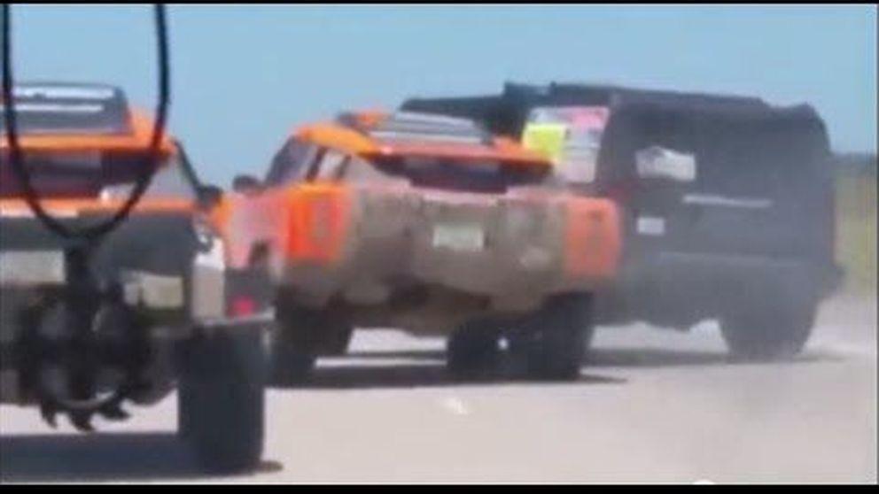Así se pierde un podio en el Dakar