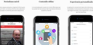 Post de Sencilla, intuitiva y personalizada: El Confidencial rediseña su 'app' de noticias