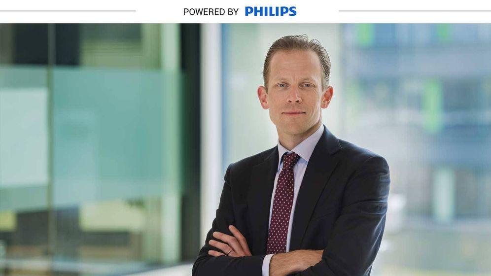 Foto: Kees Wesdorp, responsable global de negocio de la división de Diagnóstico de Precisión de Philips.