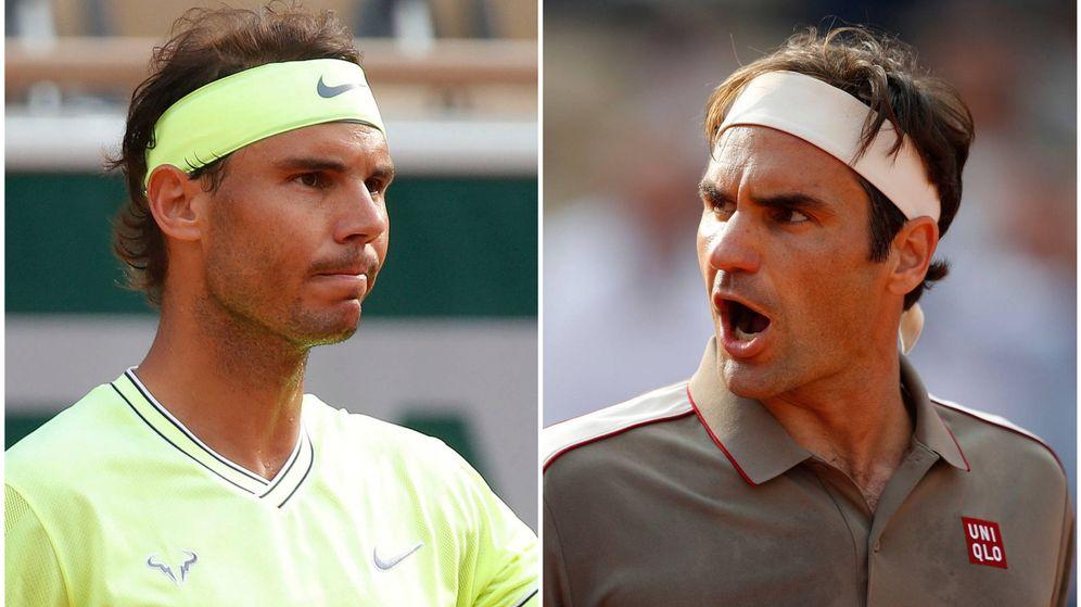 Foto: Rafa Nada y Roger Federer vuelven a enfrentarse en Roland Garros después de ocho años. (Reuters)