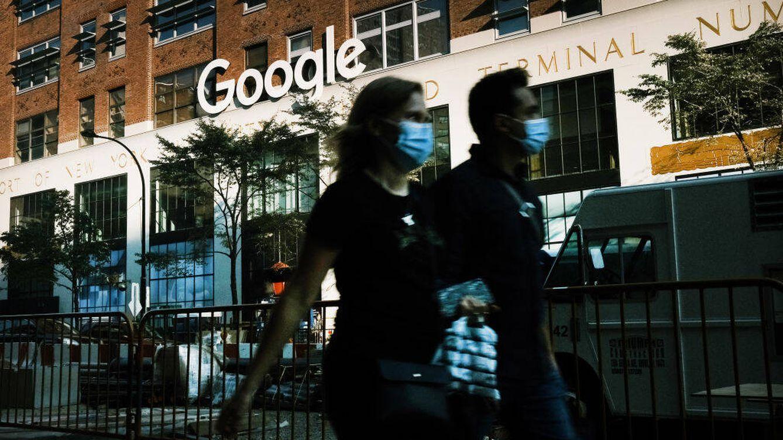 Foto: Oficinas de Google en Nueva York. (Getty)