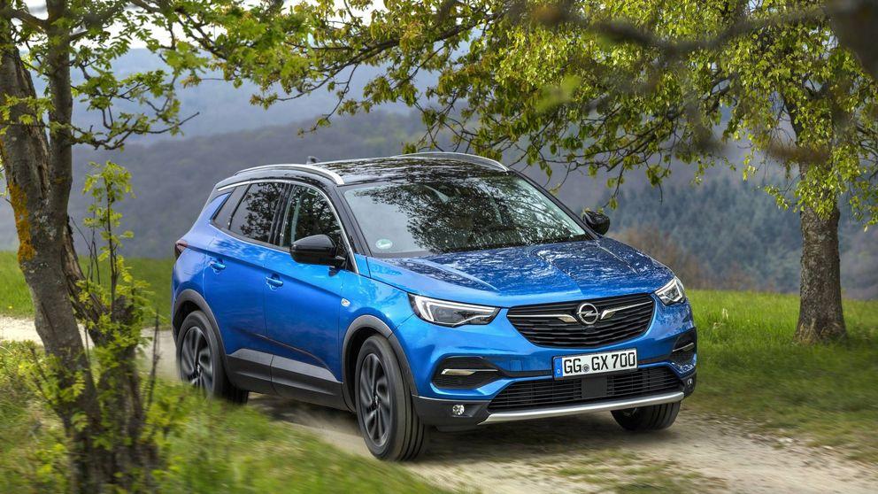 Opel completa su gama todocamino con el Grandland X
