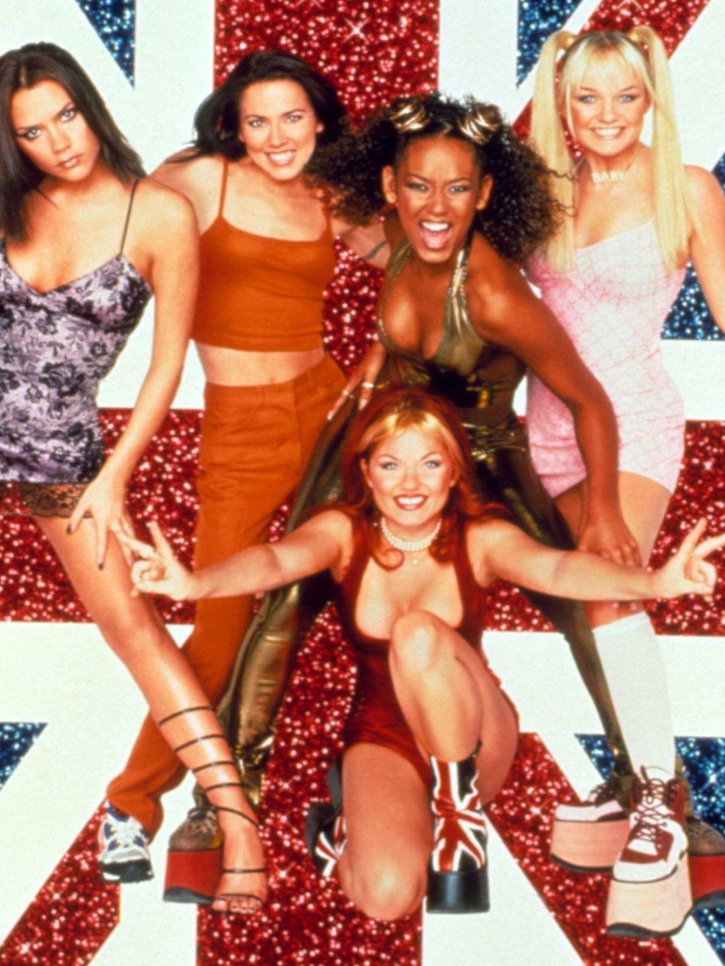Las Spice Girls en 1997. (Cordon Press)