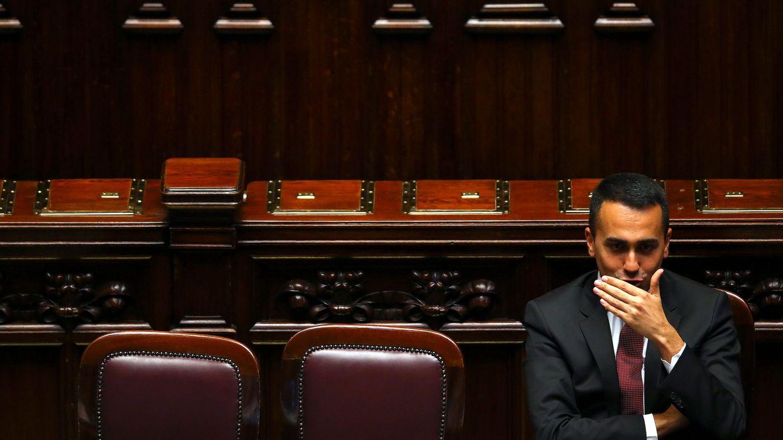 Foto: Luigi Di Maio, líder del M5S y ministro de Trabajo e Industria, durante la primera sesión de la Cámara Baja del Parlamento, el 6 de junio de 2018. (Reuters)