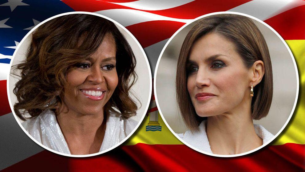 Letizia y Michelle Obama: las 7 diferencias y semejanzas entre la Reina y la primera dama