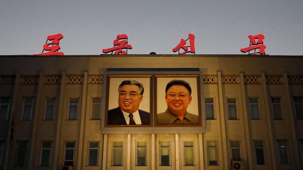 Los omnipresentes rostros de la dinastía Kim en Corea del Norte