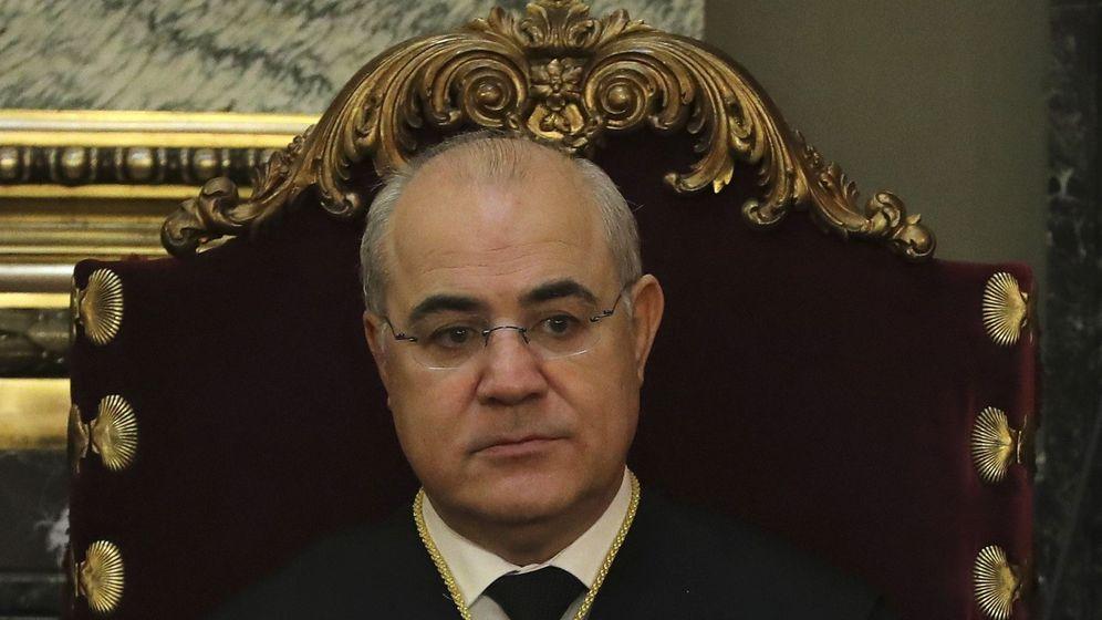 Foto: El magistrado del Supremo Pablo Llarena. (EFE)