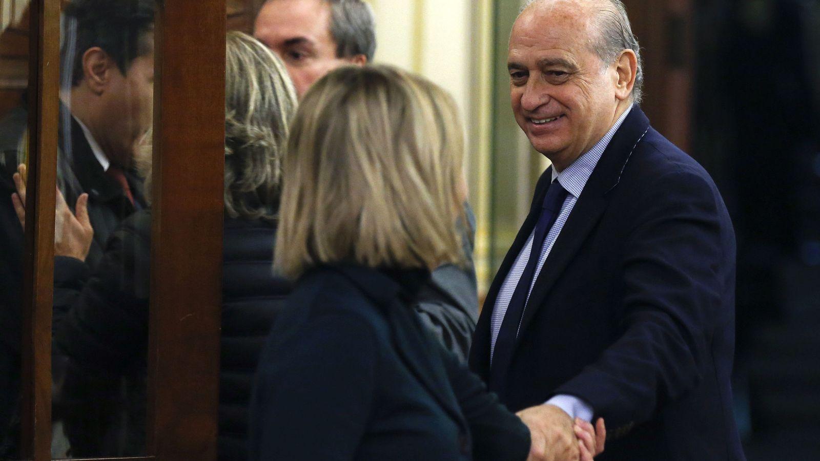 Foto: El exministro de Interior Jorge Fernández Díaz. (EFE)