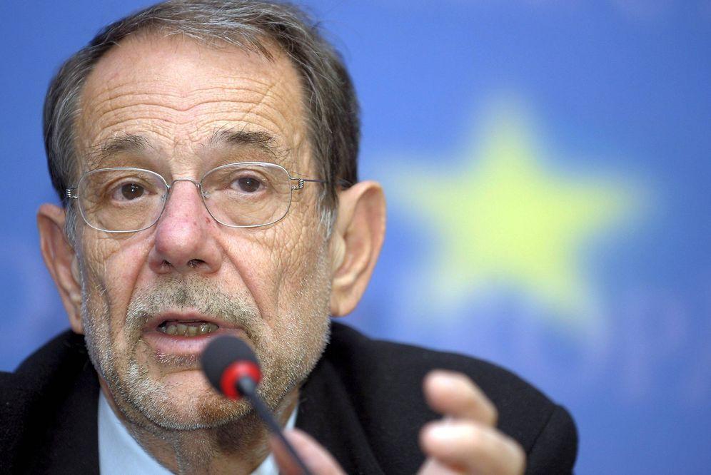 Foto: Javier Solana, durante una rueda de prensa en Luxemburgo, en 2009. (EFE)