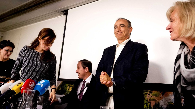 Julio Poch, en 2017 tras ser declarado inocente. (EFE)