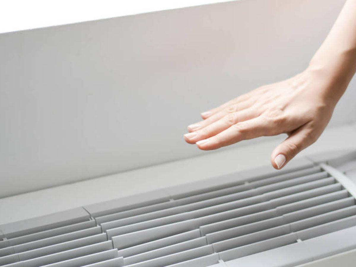 Foto: Un aparato de aire acondicionado. (iStock)