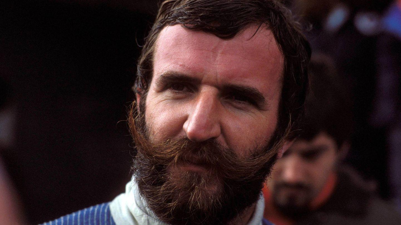 El inconfundible bigote del piloto austriaco de Harald Ertl. (Imago)