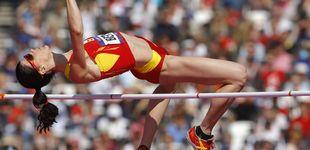 Post de Ruth Beitia, bronce en los Juegos de Londres 2012 por dopaje de una atleta rusa