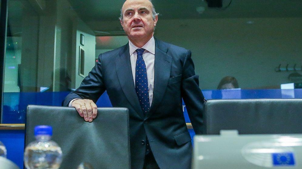 Foto: El todavía ministro de Economía, Luis de Guindos. (EFE)