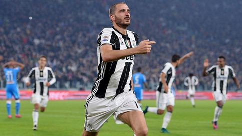 Bonucci, el muro italiano que se disputan Barcelona y Real Madrid