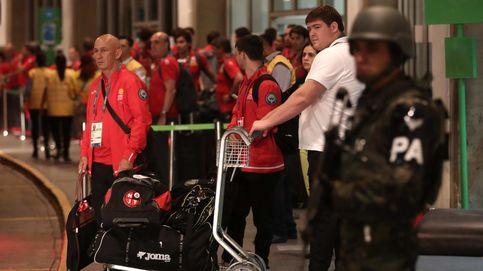 España ya está en Río: máxima seguridad y sin quejas de la Villa