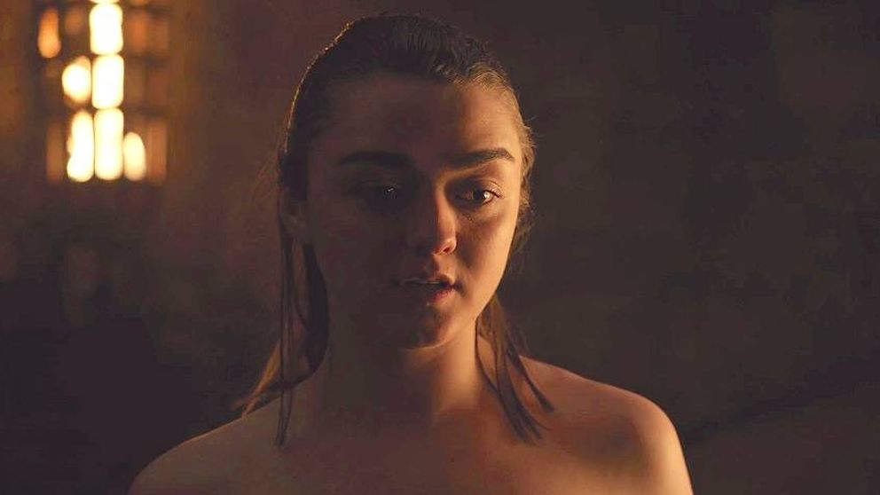'Juego de tronos': Maisie Williams desvela los secretos de la escena Arya/Gendry