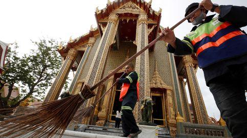 Contaminación a niveles insalubres en Bangkok y Hulk luce mascarilla: el día en fotos