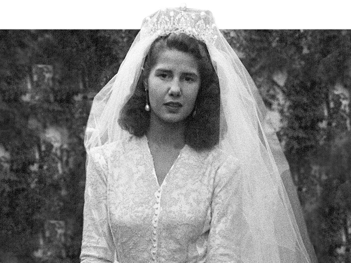 Foto: La duquesa de Alba, el día de su primera boda. (EFE)