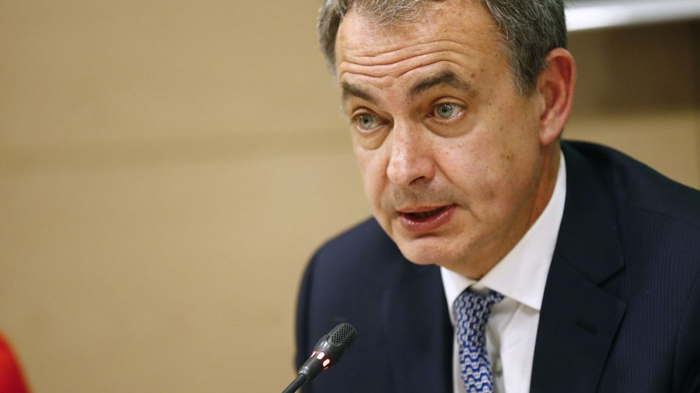 Foto: El expresidente del Gobierno José Luis Rodríguez Zapatero, durante la inauguración de unas jornadas organizadas por el Colegio General de la Abogacía Española. (EFE)