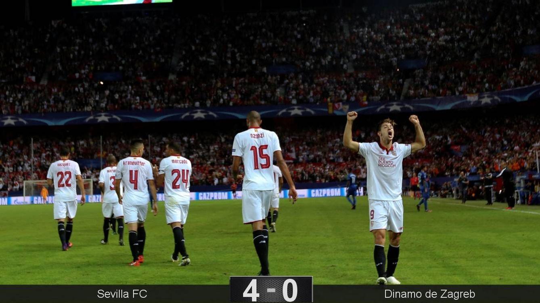 Foto: Vietto celebra el 1-0 (Marcelo del Pozo/Reuters)