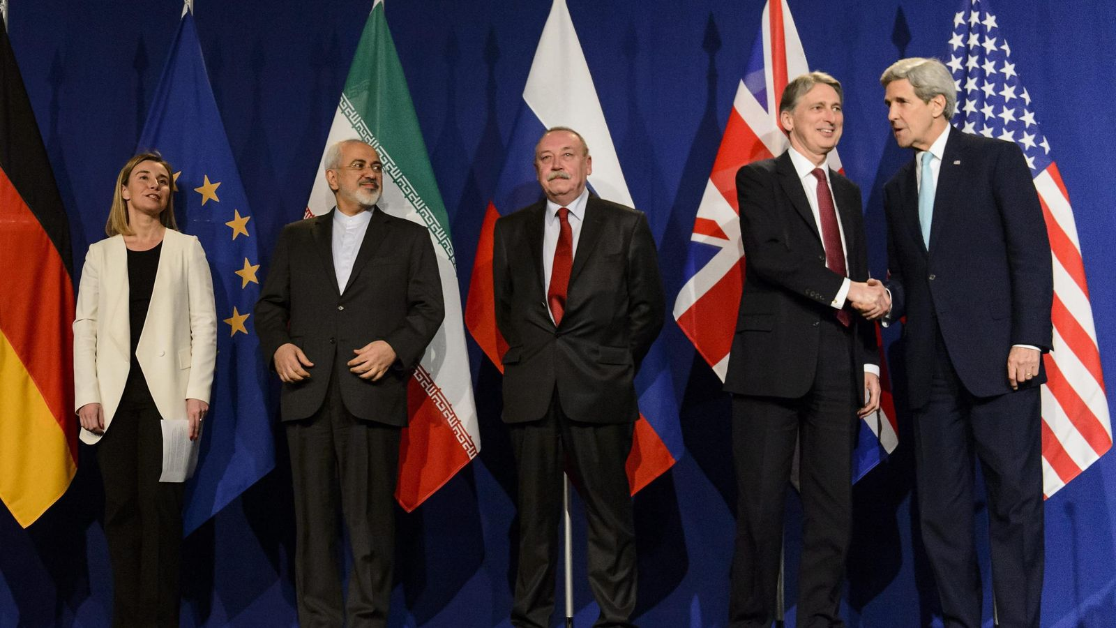 Foto: El Gobierno, contento por el acuerdo nuclear iraní. (Efe)